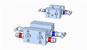 Md42h 4-valve Level Manifold  H-type