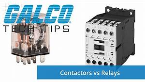 Difference Between A Contactor And A Relay