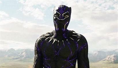 Panther Marvel Boseman Chadwick Gifs Challa Recast