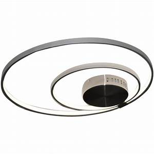 plafonnier led avec telecommande 30w 1308114 luminaire With carrelage adhesif salle de bain avec plafonnier led telecommande