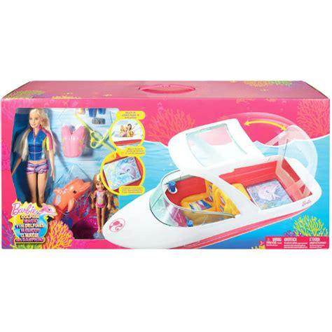 Barbie Ocean Boat by Barbie Dolphin Magic Ocean View Boat Set A Solo 33 99 En