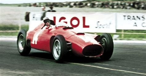 watch collins takes his first win for 1956 belgian gp