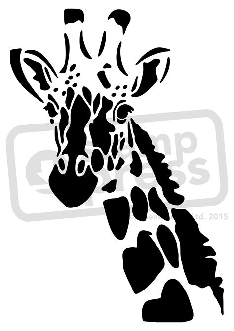 Templates For Stencils giraffe stencil a5 giraffe wall stencil template