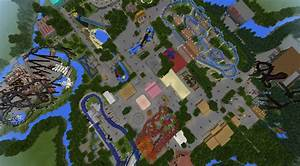 Thorpe Park (Theme Park) [Creation] | Minecraft PE Maps