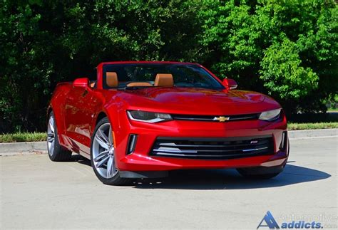 Chevy Camaro Rs Convertible by 2016 Chevrolet Camaro 2lt Rs V6 Convertible Review Test