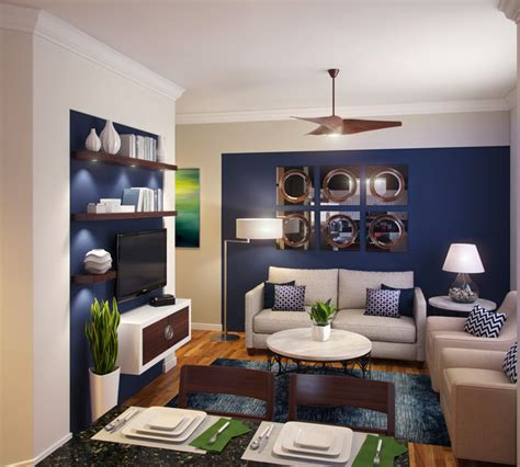 small family room navy blue white small family room modern family room other metro by ak design inc