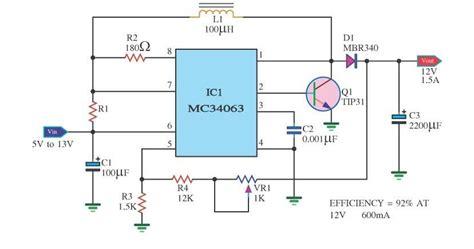 electronics circuit application mc voltage variable