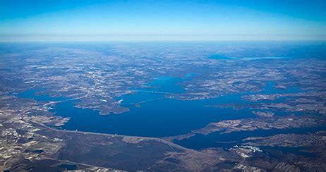 lewisville lake nearing   year floodplain