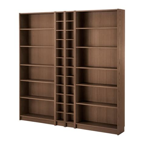 Ikea Wood Bookcase by Billy Gnedby Bookcase Brown Ash Veneer 78 3 4x79 1