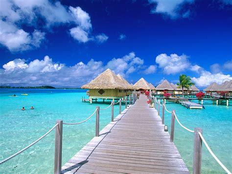 La Palapa Restaurant At The by Matira Point Bora Bora French Polynesia Postcard Matira