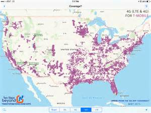 T-Mobile 4G Hotspot Coverage Map