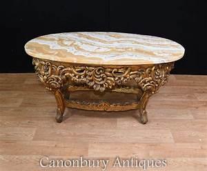 Table Basse Dorée : table basse dor e archives antiquites canonbury ~ Teatrodelosmanantiales.com Idées de Décoration