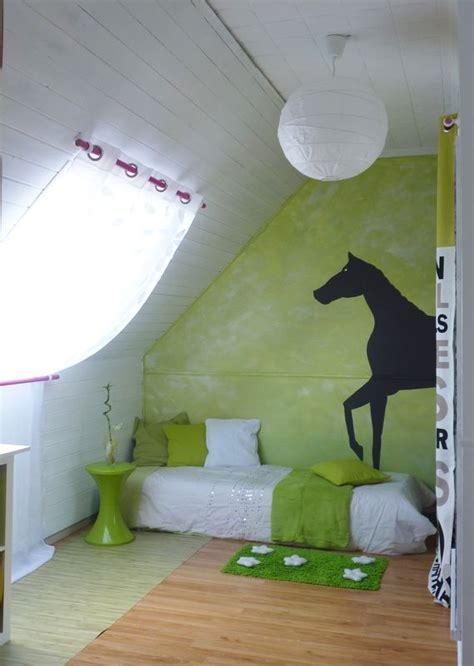 chambre cheval fille relooking déco d 39 une chambre de demoiselle 77