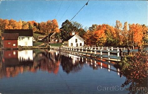 floating bridge brookfield vt