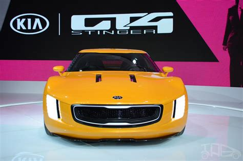 Kia Gt4 Stinger Concept At 2018 Naias Front 3 Indian