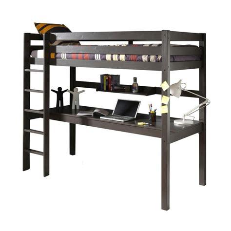 bureau taupe lit enfant superposé bureau quot pino quot taupe