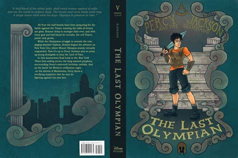 Pjothe Last Olympian Book Cover By Yurixmeister On Deviantart