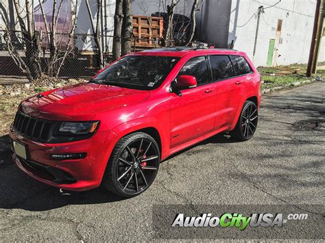 2016 jeep cherokee sport black rims 2014 jeep grand cherokee srt 8 24 quot lexani wheels gravity
