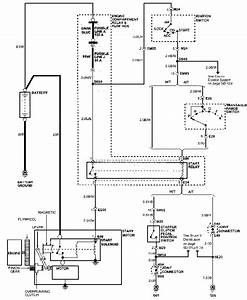 Starting System Schematic