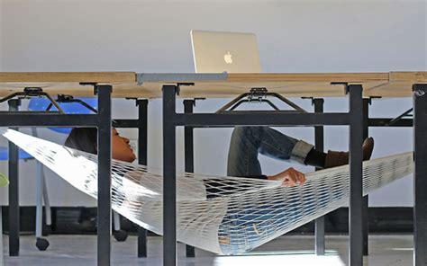 bureau d 騁ude environnement suisse envie de faire la sieste au bureau ce hamac est fait