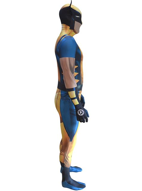 wolverine morphsuit adult costume express delivery