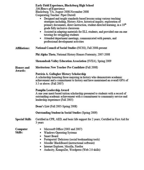 Additional Skills On Resume by 85 Best Resume Template Images On Resume