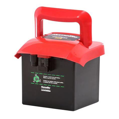 24 volt batterie homelite 24 volt replacement cordless battery bs80026hl the home depot
