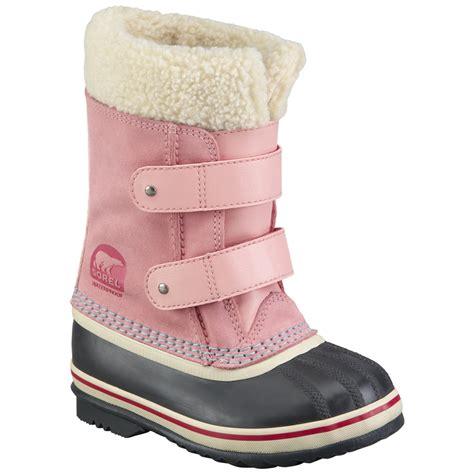 sorel toddler  pac strap winter boot