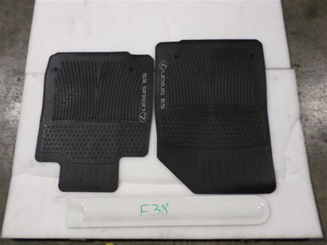 floor mats lexus es 350 nice oem all weather floor mats pair lexus es350 07 08 09 10 11 12 black set 222 le1f12