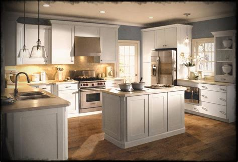 kitchen white country cabinets in antique shaker