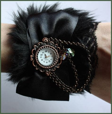fur watches   jewelry making  sewing  cut