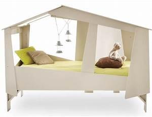 Lit Fille Ikea : cabane lit ikea cheap tte de lit diy avec des tagres ikea ~ Premium-room.com Idées de Décoration