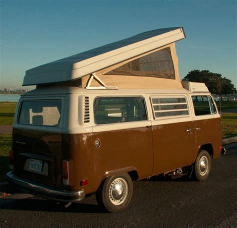 1978 Volkswagen Type Ii Bus Westfalia Camper Van