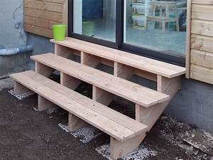 Escalier Extérieur En Bois : escalier bois exterieur finistere maisons bois acacia ~ Dailycaller-alerts.com Idées de Décoration