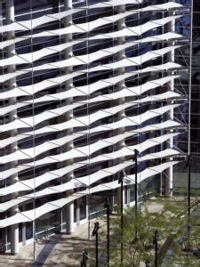 building facades vertical shade specialty fabrics review
