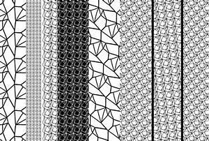 Papier Peint Motif Geometrique : poster tendance motifs g om triques noirs et blancs ~ Dailycaller-alerts.com Idées de Décoration