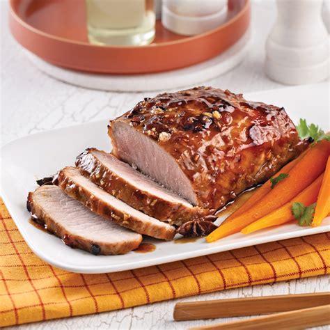 cuisine porc rôti de porc caramélisé à l 39 asiatique recettes cuisine