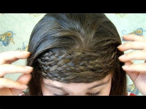 Katniss Multi Strand Braided Headband   Catching Fire