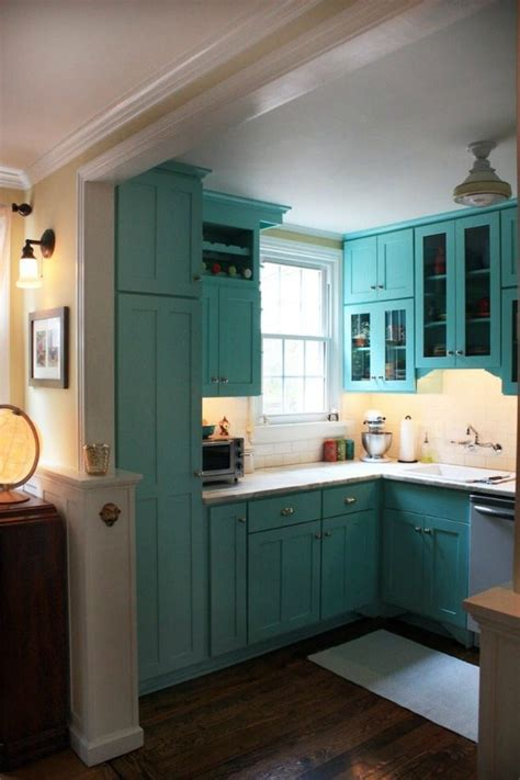 turquoise  aqua kitchen ideas refresh restyle