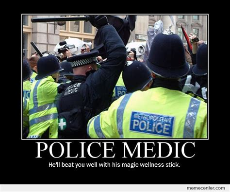 Police Memes - meme a baton a day keeps the average protester away