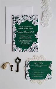 best 25 emerald green weddings ideas on pinterest With black white and emerald green wedding invitations