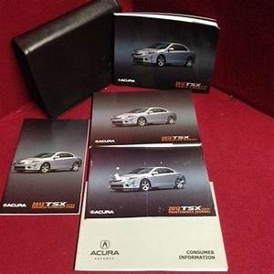 2012 Acura Tsx Owners Manual With Navigation And Warranty