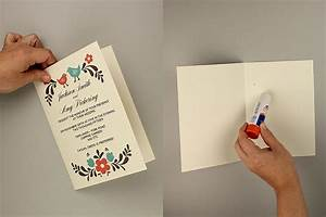 diy tutorial free printable invitation and rsvp card With 2 fold wedding invitation template
