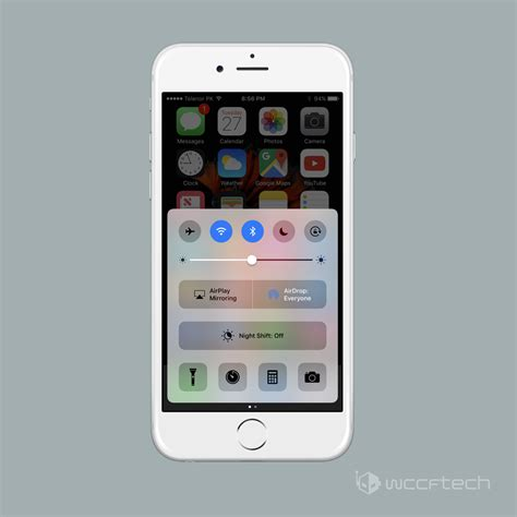 where is the flashlight on iphone how to adjust iphone flashlight brightness in ios 10