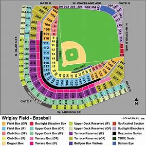 Chicago White Sox Seating Chart View Cubs Tickets 2018 Chicago Cubs Tickets
