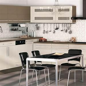 cuisine en l modulable en faience photo 2 12 la With disposition cuisine en l