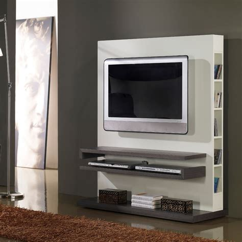 decoration salon gris et blanc meuble tv design gris et blanc laqu 233 salons tvs and tv walls