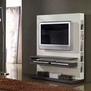Meuble Tv Original : idee meuble tv original meuble et d co ~ Teatrodelosmanantiales.com Idées de Décoration