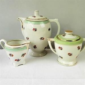 Fine Limoges France Porcelain Tea Coffee Set