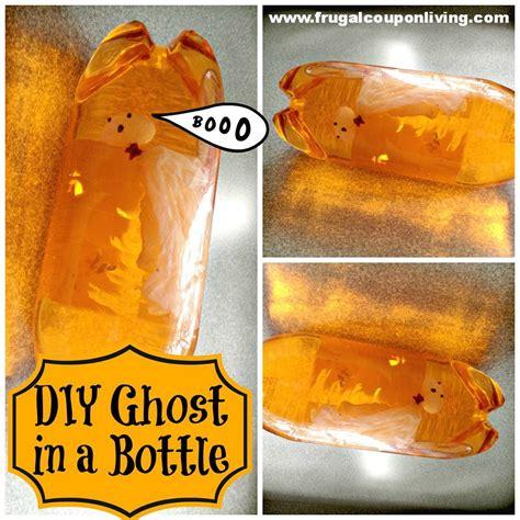 diy halloween ghost   bottle   ultimate ghostbuster